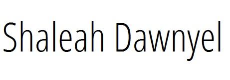 Shaleah Dawnyel